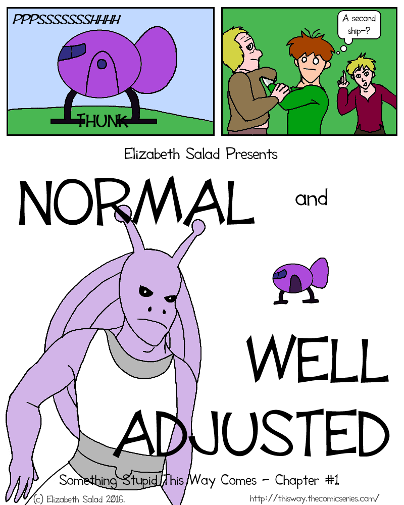 Normal and Well Adjusted - COVER