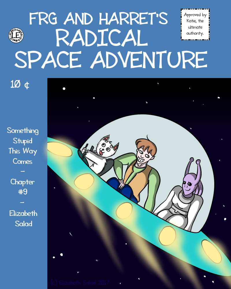 Frg and Harret's Radical Space Adventure - COVER